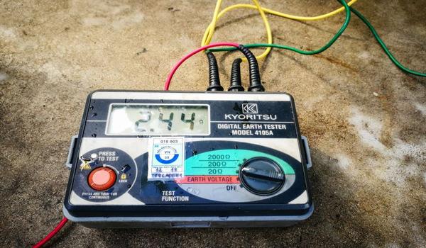 Điện trở đất cần nhỏ hơn 10Ω