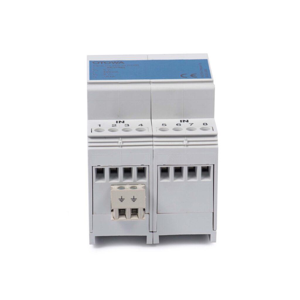 Thiết bị này được lắp tại tủ phân phối chính, ngõ vào của hệ thống điện